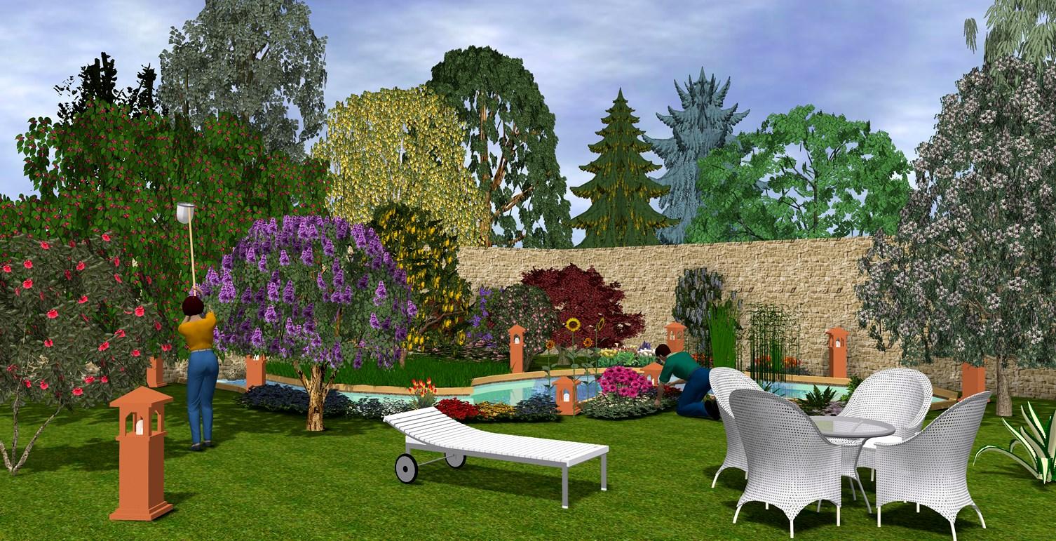 Software arcon visuelle architektur for Software progettazione giardini 3d free